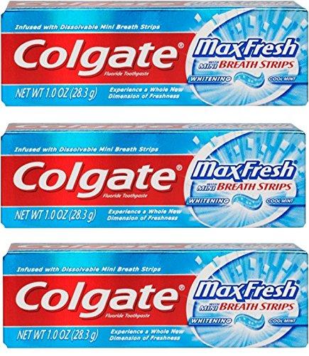 Colgate Toothpaste Fluoride Breath Strips