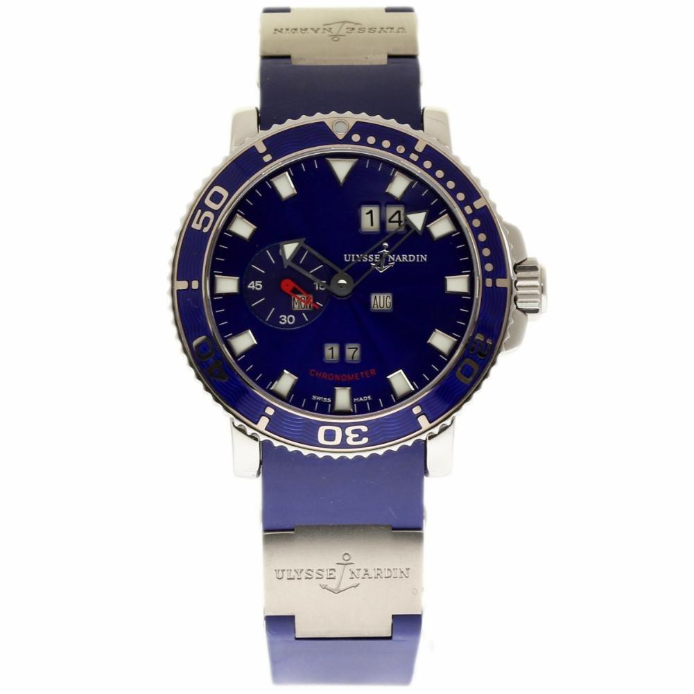 Ulysse Nardin Marine Diver swiss-automatic Mens Reloj 333 - 77 - 7 (Certificado) de segunda mano: Ulysse Nardin: Amazon.es: Relojes