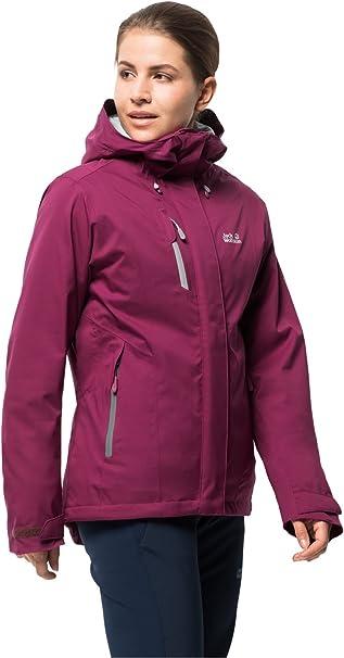 Jack Wolfskin Troposphere Women, sehr warme Winterjacke für Damen, wasser & winddichte Outdoor Jacke für Damen, Windbreaker für Damen mit