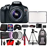 Canon EOS Rebel T6 Digital SLR with 18-55mm IS II Lens , 288 LED Light and Top Accessory Bundle