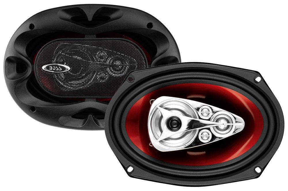 Boss Audio SK553 CH6950 600 Watt (Per Pair), 6 x 9 Inch, Full Range, 5 Way Car Speakers (Sold in Pairs)