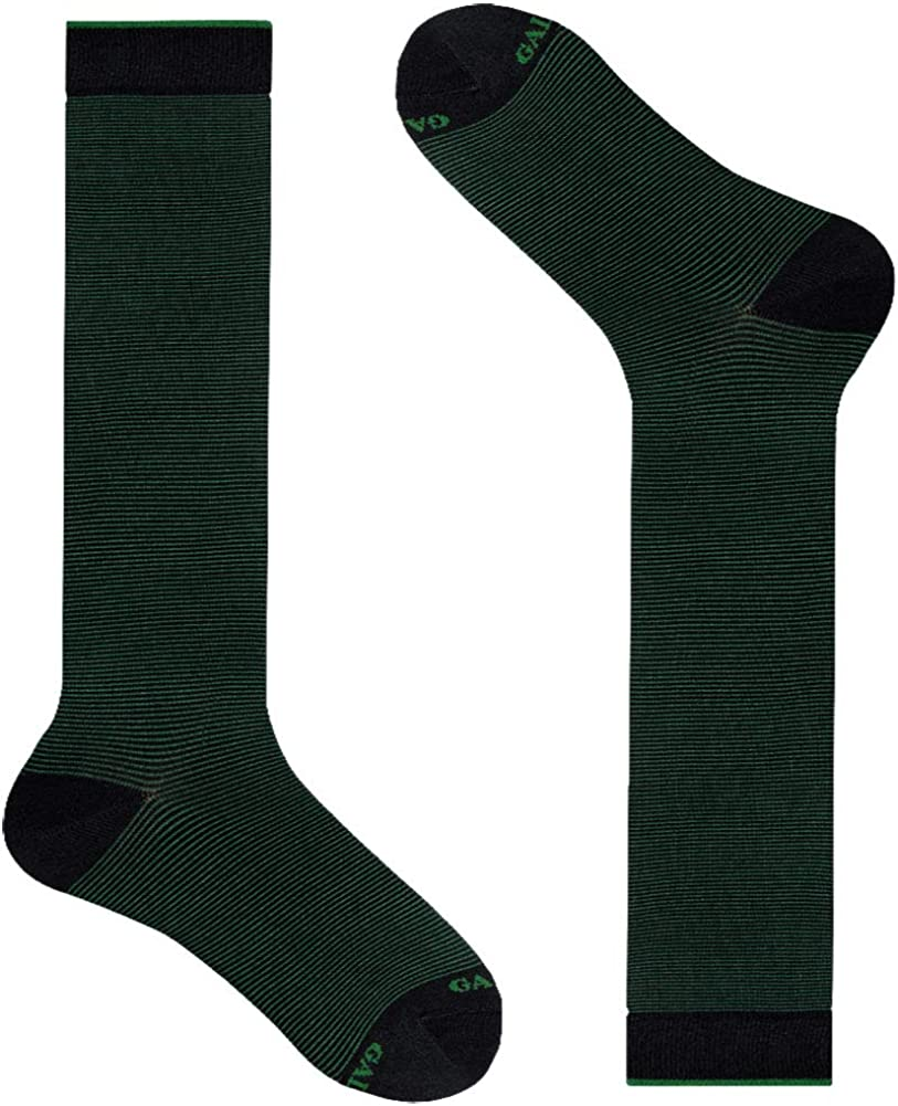 Gallo calze uomo cotone leggero fantasia righina sottile tg.40-45 ap502139