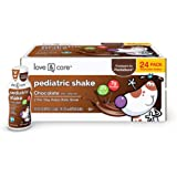 Love & Care Pediatric Chocolate Nutrition Drinks, Balanced Nutrition and Flavor Kids Love, 24 Count