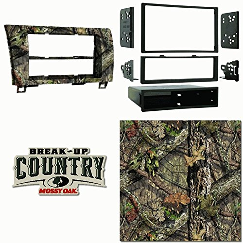 Metra MOBU-99-8220 Single DIN Dash Kit For Toyota Tundra 2007-13 & Sequoia 08-Up Painted Mossy Oak Camo ()