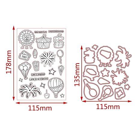 cugap Handprint Basic Beginnings seguro de corte Die metal Stencil Plantilla Molde para DIY álbum de