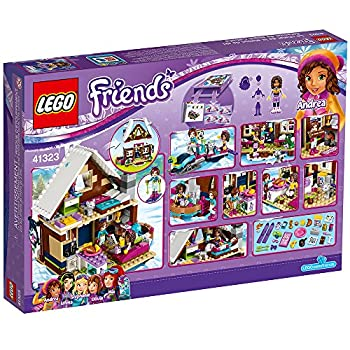 Lego Friends Snow Resort Chalet 41323 Building Kit (402 Piece) 5