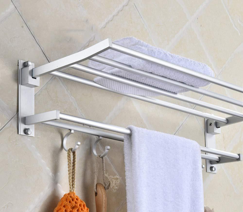 Colgador de toallas toallas toallas plegable, 40cm, a e6bc61