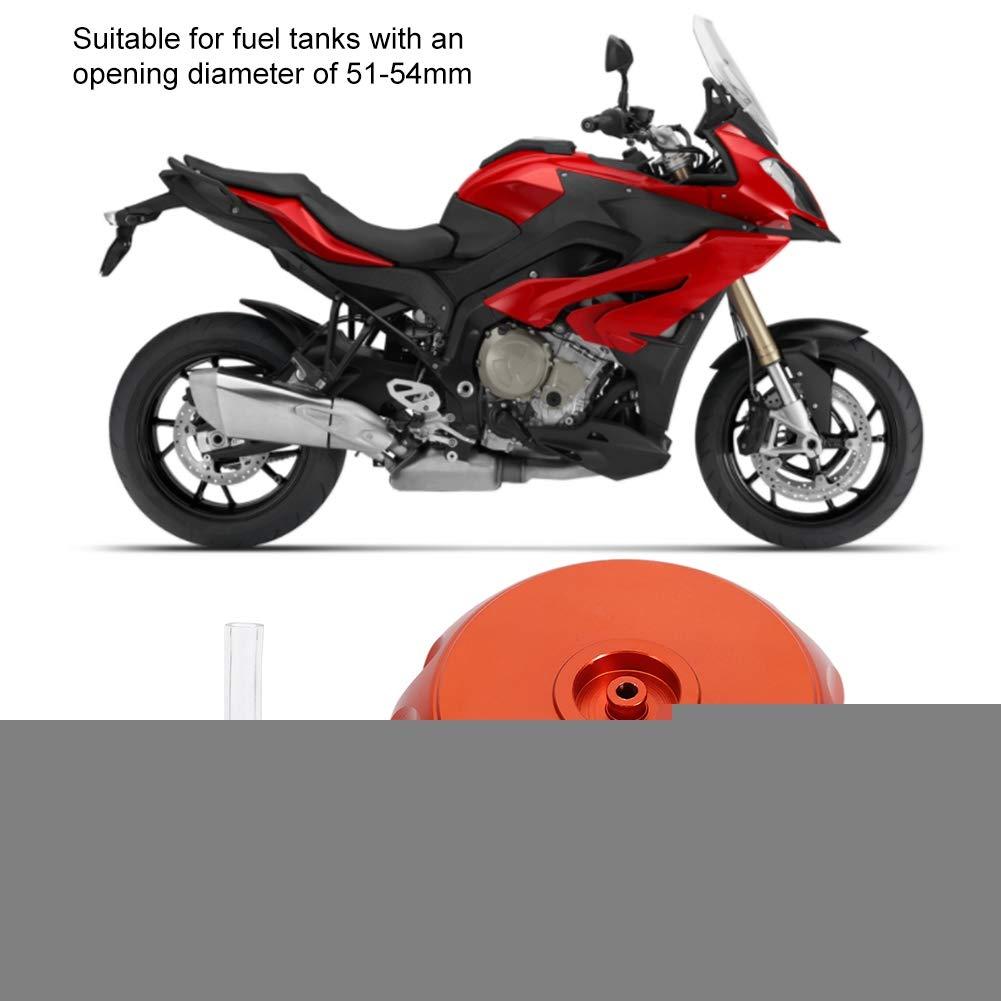 Pasamer Tappo Coperchio Serbatoio Carburante Benzina in Alluminio CNC a Controllo numerico Motociclo 4 Colori con sfiato sfiato 01