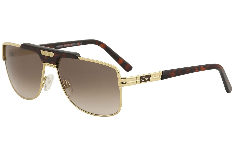 089d5a7a57ef Amazon.com  Cazal 987 Sunglasses 002SG Gold-Tortoise Brown Gradient Lens  60mm  Clothing