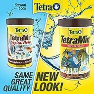 TetraMin Tropical Flakes 7.06 Ounces, Nutritionally Balanced Fish Food