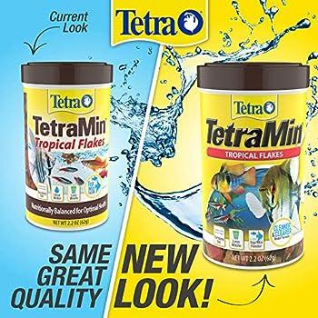 TetraMin Tropical Flakes Nutritionally Balanced Fish Food 706Ounce