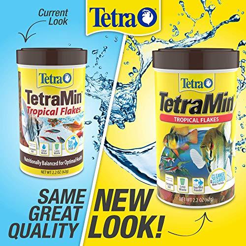 TetraMin Tropical Flakes, Nutritionally Balanced Fish Food, 7.06-Ounce