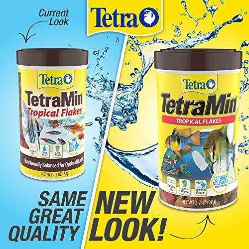 TetraMin Tropical Flakes, Nutritionally Balanced Fish Food, 7.06-Ounce ()