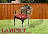 laminet cover - LAMINET Crystal Clear Outdoor Furniture Cover - Chair Cover