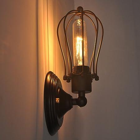 Candelabro estilo Vintage, industrial mini jaula de alambre para ...