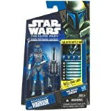 Star Wars 2010 Clone Wars Animated Action Figure CW No. 29 Mandalorian Trooper by Hasbro
