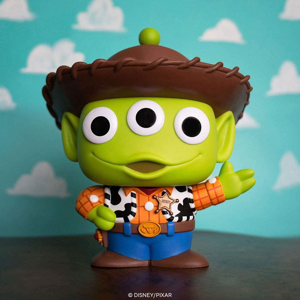 "Vinyl Figure #756 Pixar Alien Remix Woody 10/"" Pop"