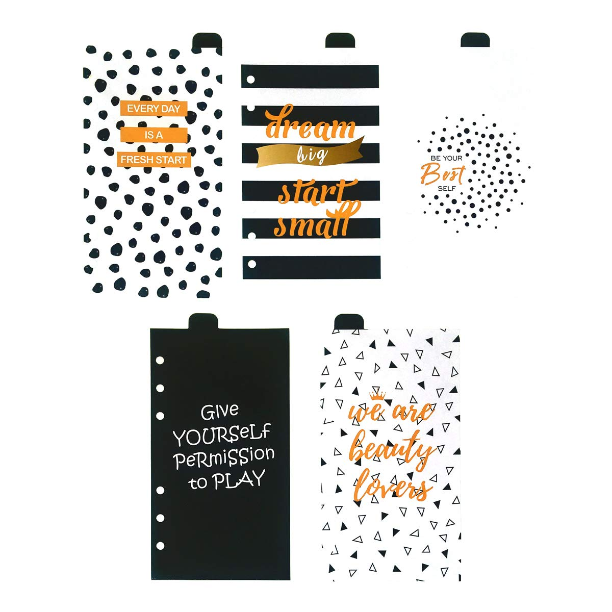 A5 Divider Paper A Sunny Planner