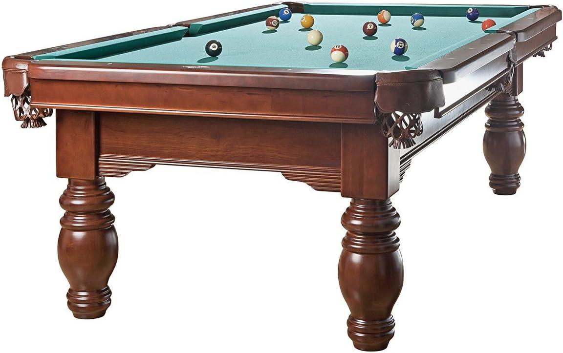 Billiard-Royal Mesa de Billar Modelo Magdalena – 9 Ft, Verde: Amazon.es: Deportes y aire libre