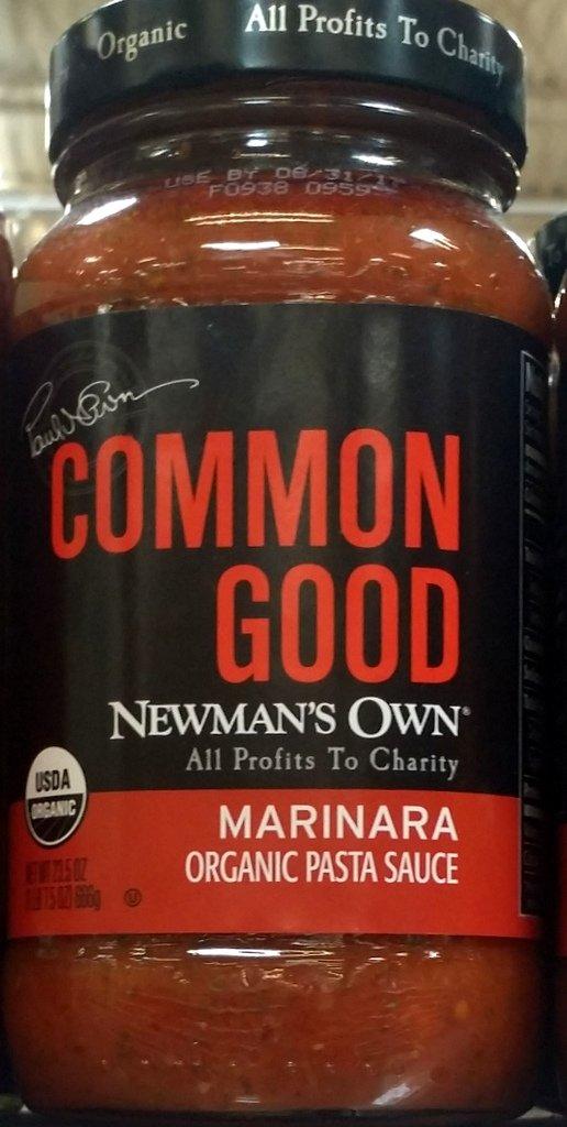 Newman's Own Common Good Marinara Organic Pasta Sauce 23.5 Oz (Pack of 2)