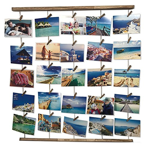 8 Frame Square Portrait and Landscape Design Collage Picture Frame - 7