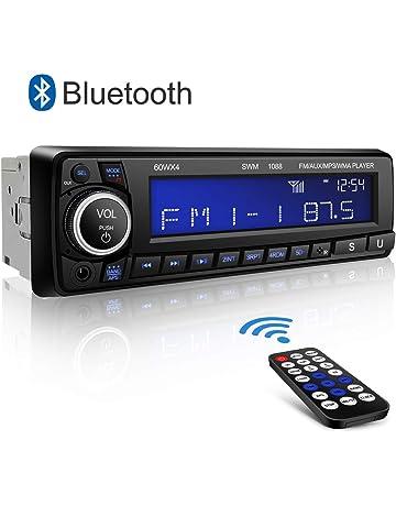 Autoradio Bluetooth Coche Kimood Radio Coche con Pantalla Grande y Potencia de Salida 4 * 60W