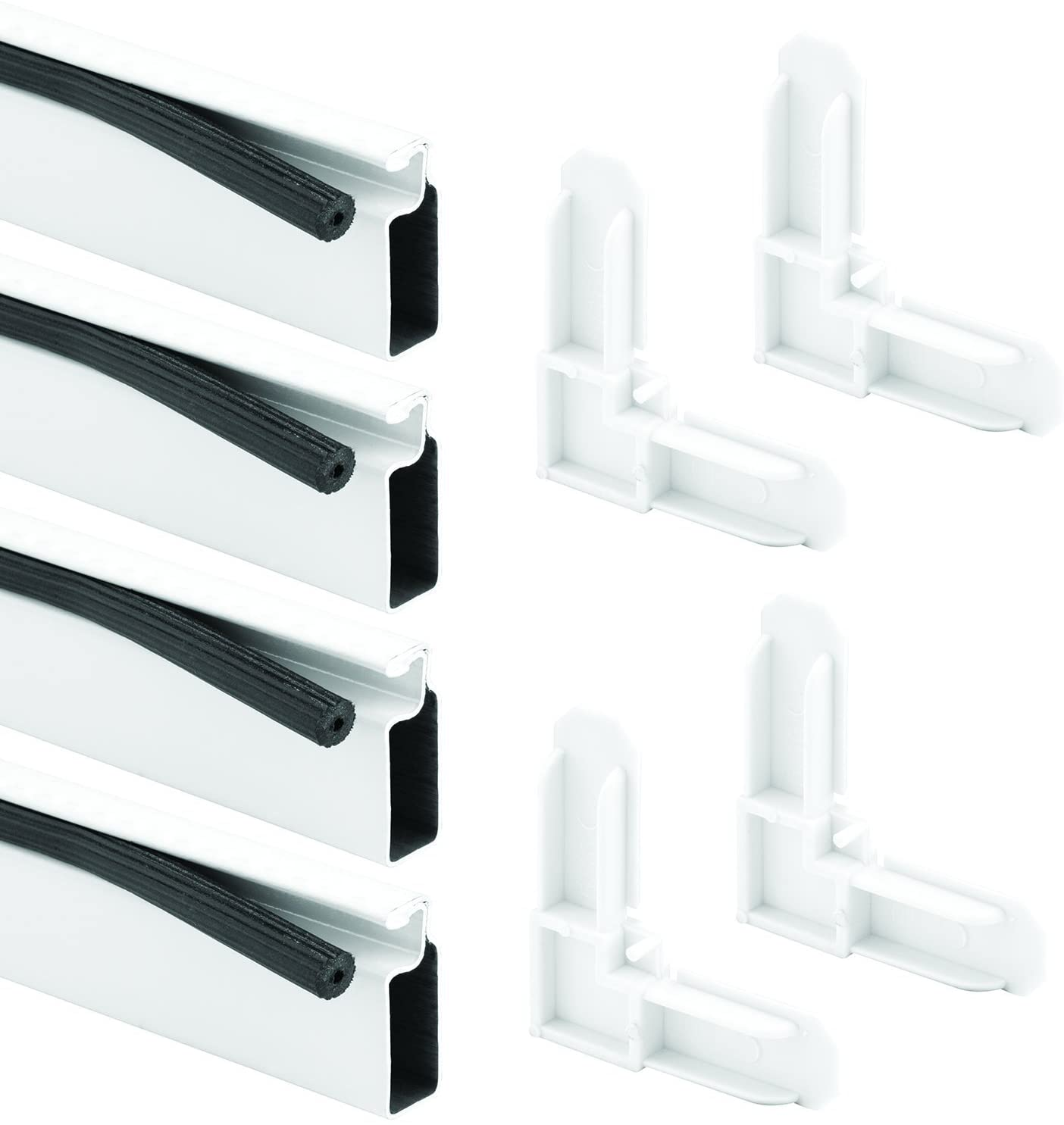 Prime Line Products Pl 7823 Screen Frame Kit 3 8 In X 3 4 In X 60 In X 60 In Aluminum Frame White Window Dressing Hardware Amazon Com