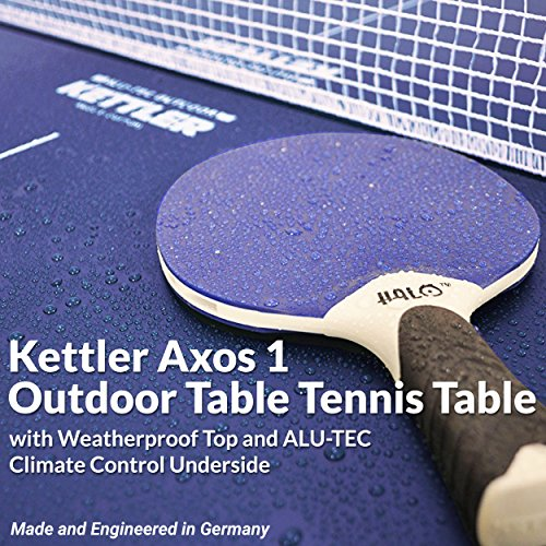 Kettler Outdoor Table Tennis Table - Axos 1 with Outdoor Accessory Bundle by Kettler (Image #2)