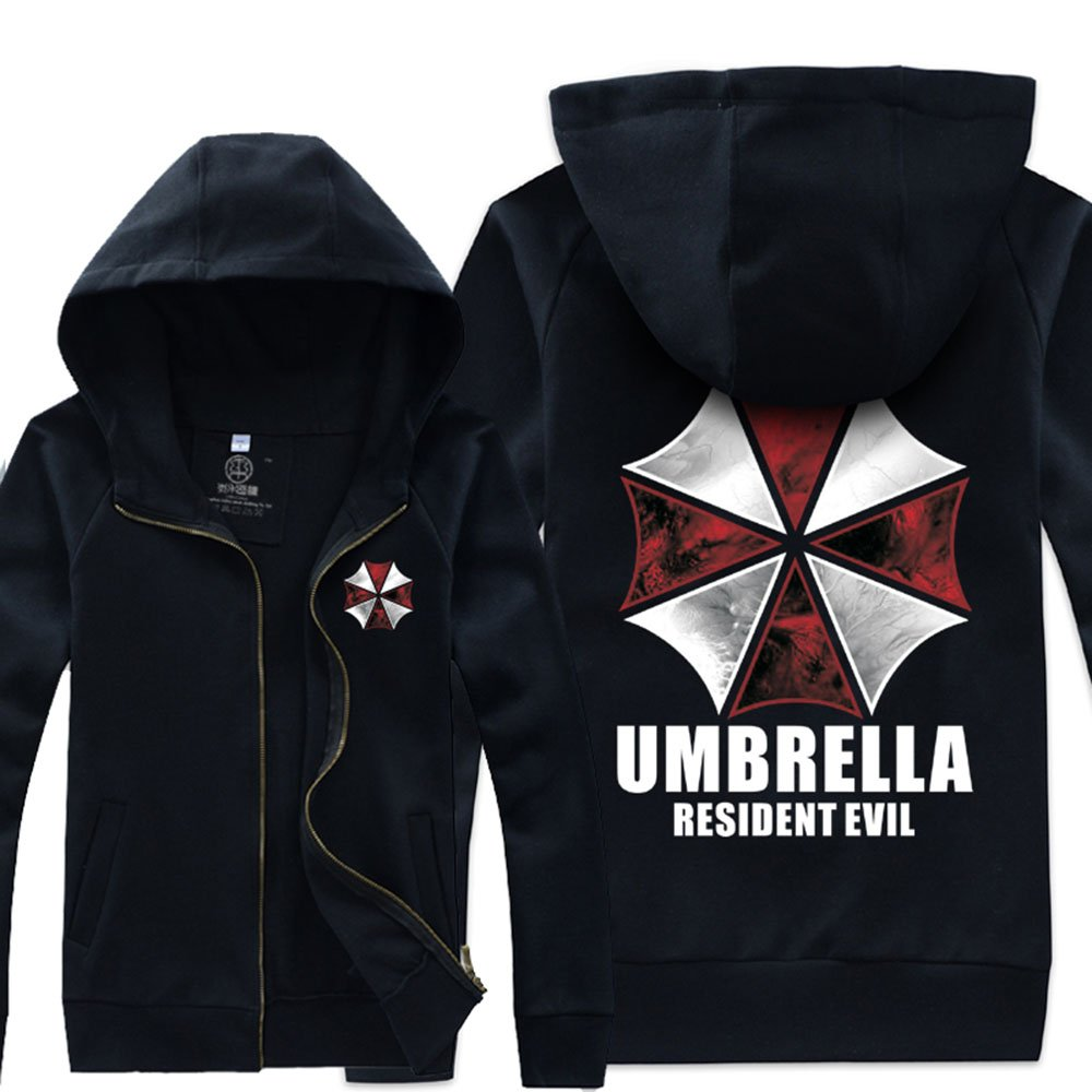 Resident Evil Umbrella Corporation Chaqueta Traje Negro Paraguas XXL: Amazon.es: Deportes y aire libre