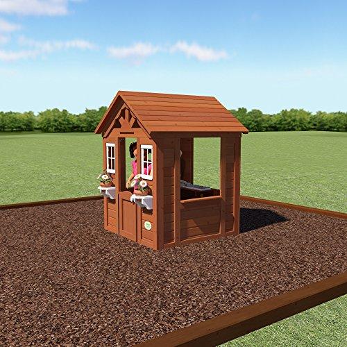 backyard discovery timberlake all cedar wood playhouse new