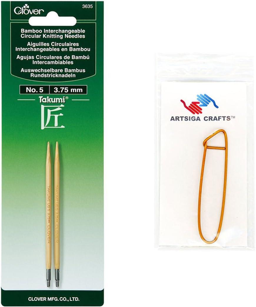 Clover 3635 Interchangeable Circular Knitting Needle Size 5