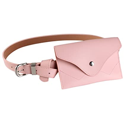 184f9856d3a Image Unavailable. Image not available for. Color: JAGENIE Fashion Waist  Fanny Pack Belt Bag Pouch Travel Hip Bum Bag Women Small Purse New