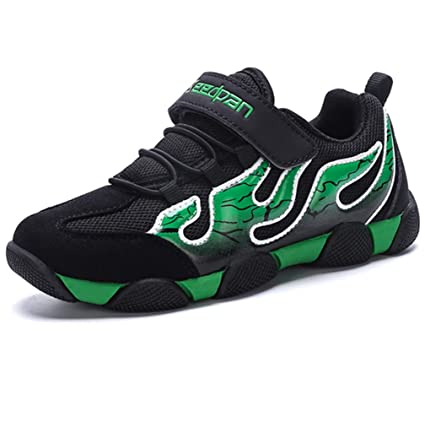 12f5aa2b LGXH Big Boys Tennis Shoes Mesh Anti-Slip Wear-Resistant Sole Youth Girl  Causal