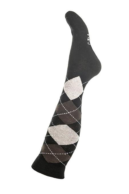 Hkm Mujer – Calcetines de equitación Copper Kiss Calcetines, Todo el año, Mujer,