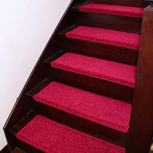 Payonr - Alfombra Suave para escaleras de Interior y Moderno, Alfombrilla para Escalera, sin Pegamento, autoadhesiva, Alfombra para Escalera de casa, Alfombrilla Antideslizante: Amazon.es: Jardín