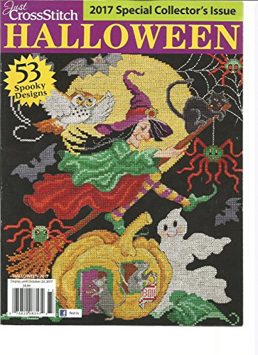 JUST CROSS STITCH MAGAZINE HALLOWEEN 2017. 53 SPOOKY -