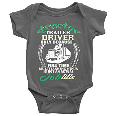 229de36c9d33 Amazon.com  Not An Actual Job Title Baby Bodysuit