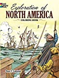 Exploration of North America Coloring Book (Dover History Coloring Book)