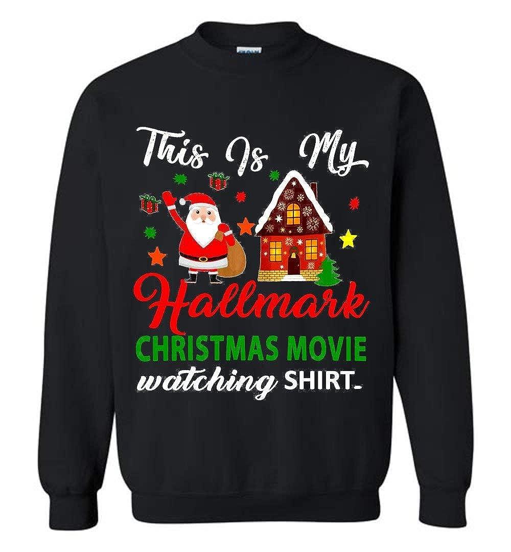 All I Want to do Bake Christmas Cookies Drink Christmas Shirt Christmas Movies Hallmark Tree for Xmas