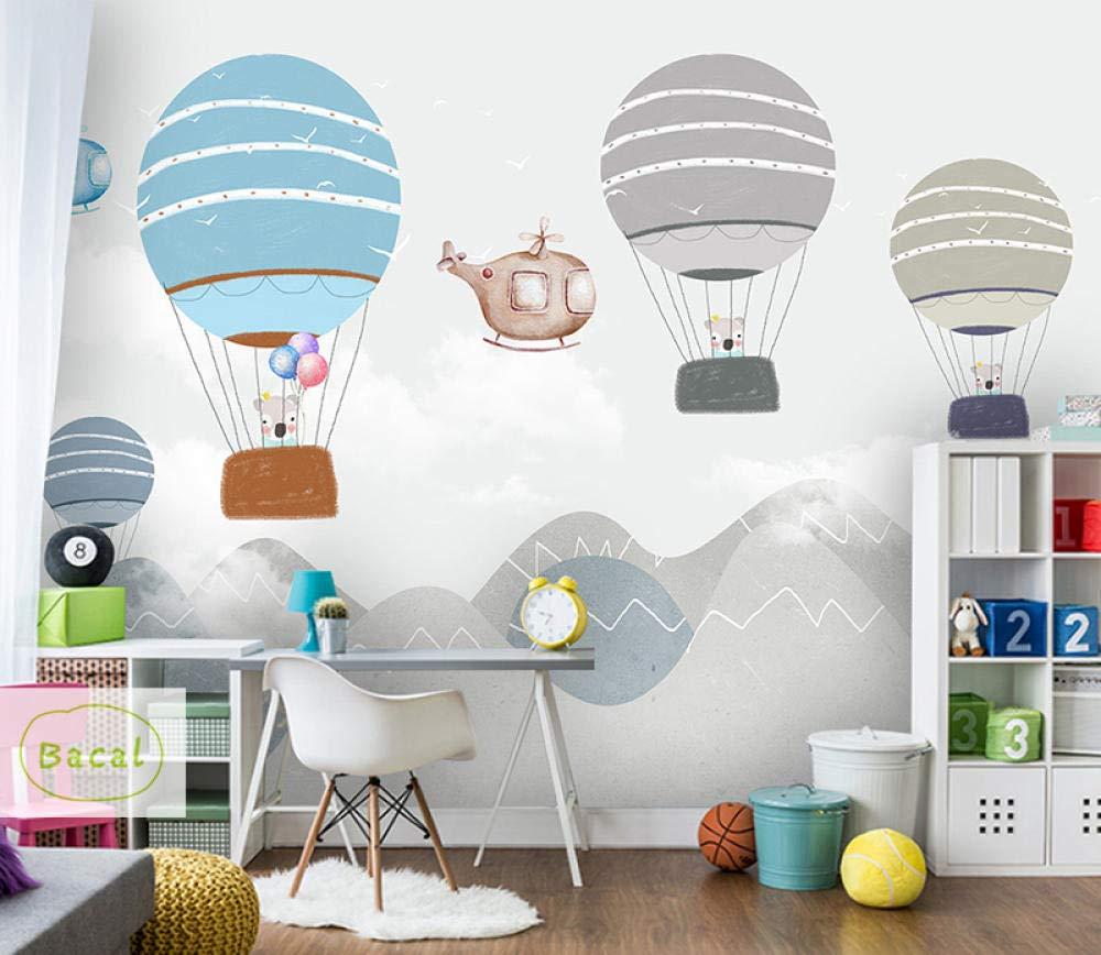 ZCHENG Personalizado Habitación de la pared para niños Papel tapiz ...