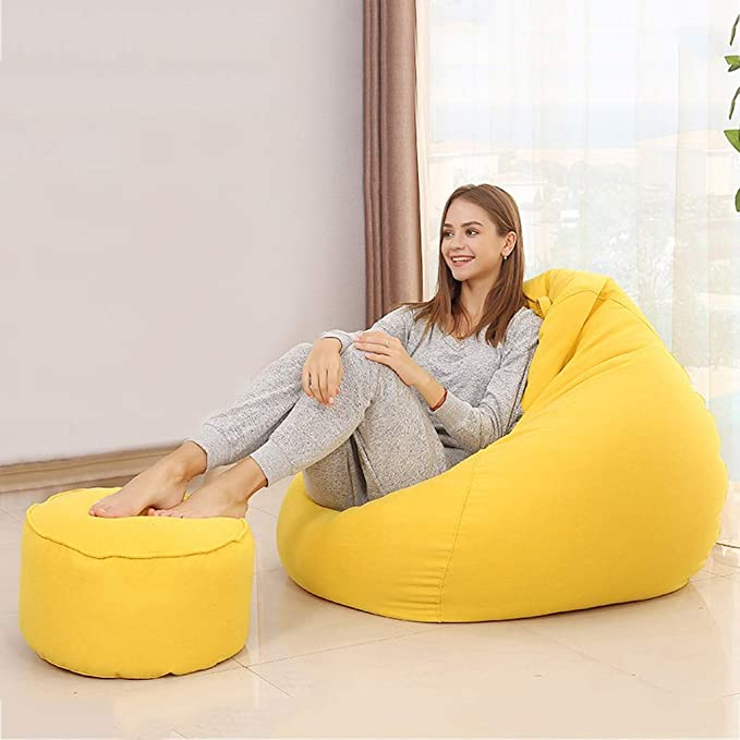 Amazon.com: XVTYXSXIO Lazy Sofa Sofa Sack Bean Bag Chair ...