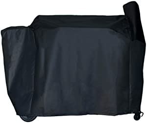 BBQ Butler Full Length Grill Cover - Fits Traeger 34 Series and Texas - Heavy Duty Smoker Cover - Black