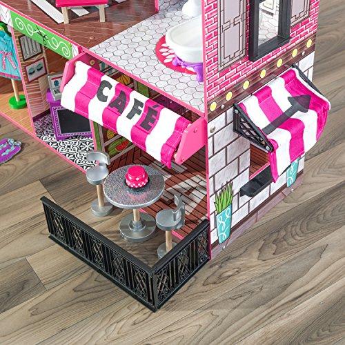61z6z4ULPpL - KidKraft So Chic Dollhouse with Furniture