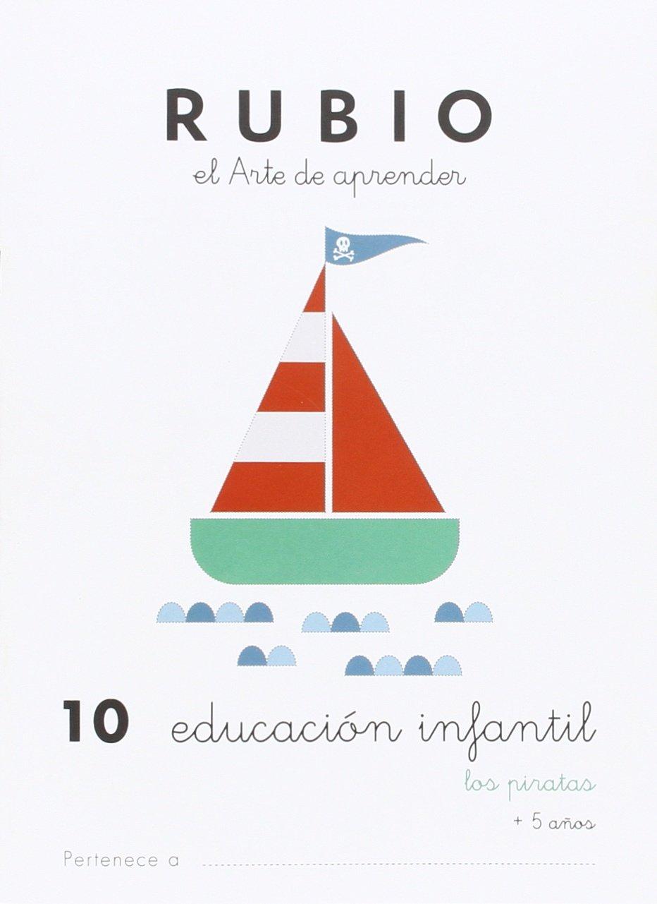 EDUCACIÓN INFANTIL 10: LOS PIRATAS - 9788415971900: Amazon.es: ENRIQUE RUBIO POLO, SLU: Libros