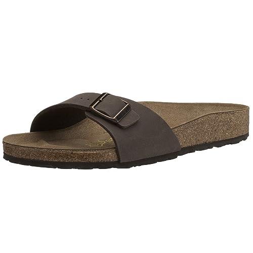 2d46e3064f4b Birkenstock Women s Madrid Birko-Flor Sandals  Amazon.co.uk  Shoes ...