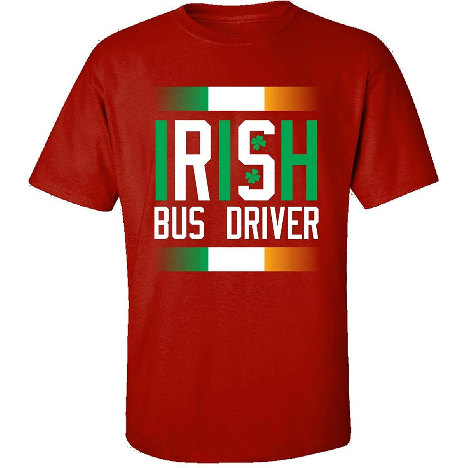 Irish Bus Driver Beautiful St Patrick Day Gift For Bus Driver - Adult Shirt