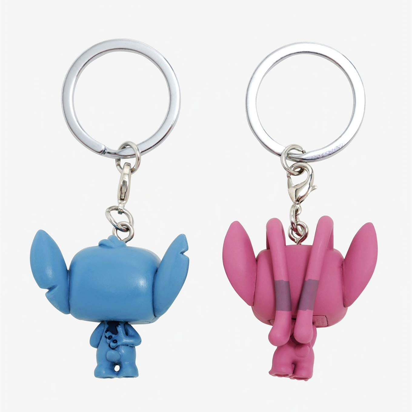Funko Pop! Keychain: Lilo & Stitch & Angel 2 Pack Toy, Multicolor: Toys & Games