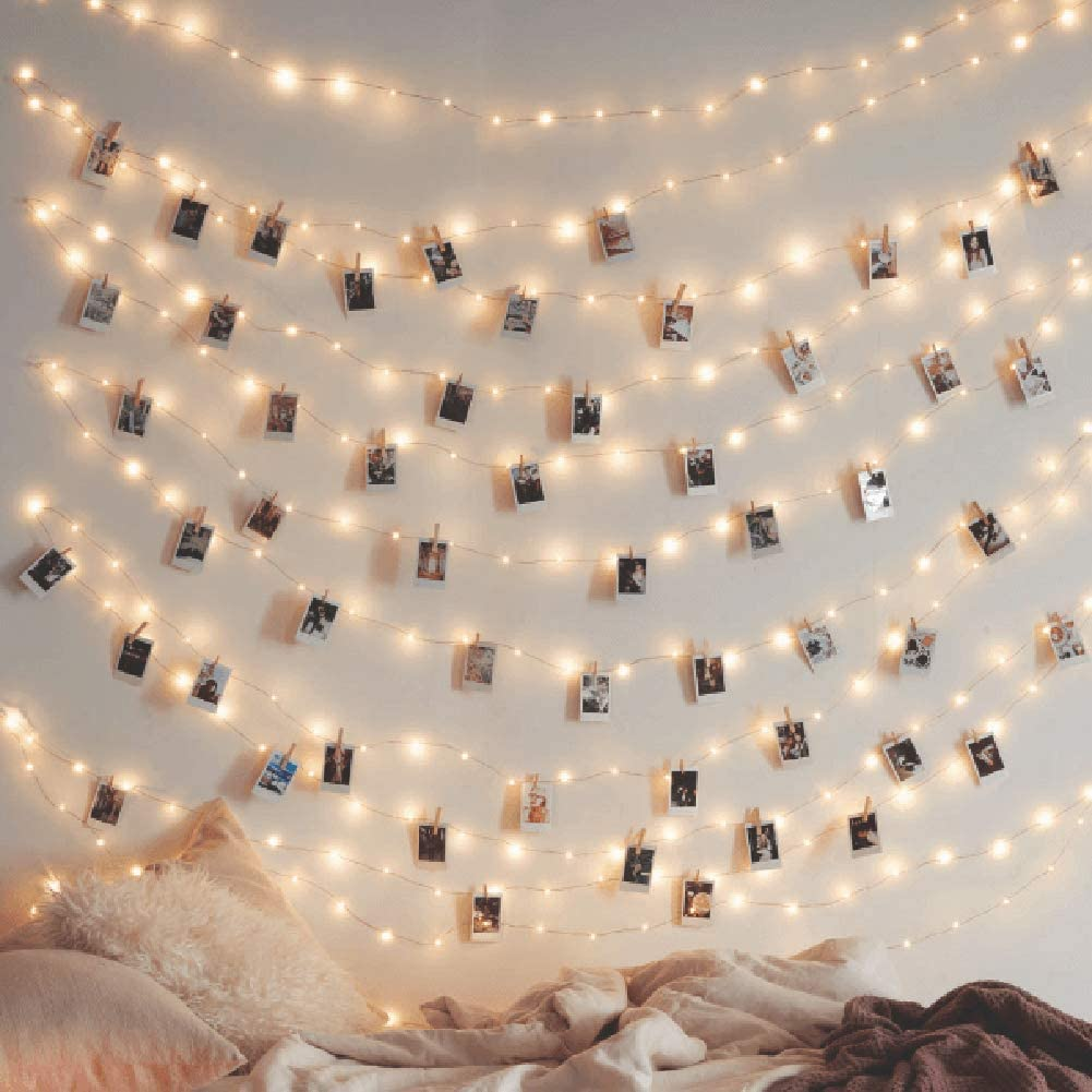 USB & adapter powered starry string lights