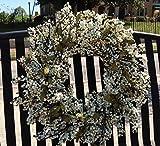 "Bountiful Berry Wreath 24"" - Cream/Green"