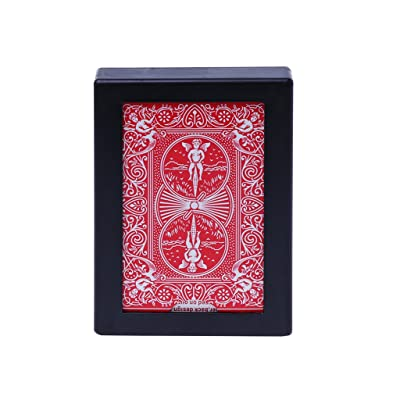 YOYOHOT 1PC Magic Trick Toy Disappearing Vanishing Poker Card Case Close Up Magic Trick Toy Easy to Do: Toys & Games